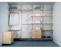 Инструкция по изготовлению стеллажей и гардеробных комнат система Росла US