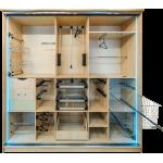 Выдвижные полки, вешалки  в шкаф   (24)