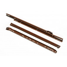 Направляющие роликовые 250мм-500 коричневые