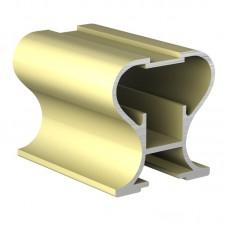Вертикальный профиль  Золото закрытое