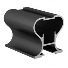 Вертикальный профиль   Черный закрытый