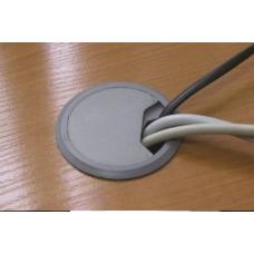 Заглушка для компьютерного стола Д-60мм,