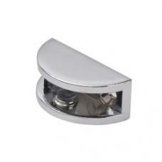 Полкодержатель для стеклянной полки 5*10мм, хром