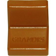 Уголок металлический  Grandis, с пластиковой крышкой 20*20, ольха