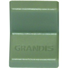 Уголок металлический  Grandis, с пластиковой крышкой 20*20, серый