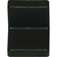 Уголок металлический  Grandis, с пластиковой крышкой 20*20, венге