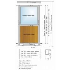 Расчет дверей купе RAUFF S70