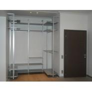 Алюминиевый  профиль для гардеробных комнат и мебели