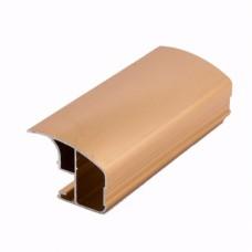 Профиль вертикальный STERN  Золото браш  5,4м