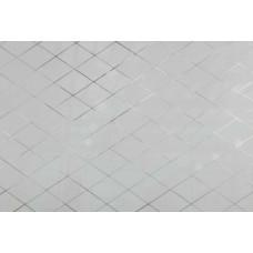 Зеркало ALMAZ ROMB матовое, серебро