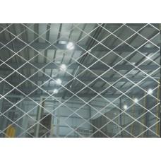 Зеркало ALMAZ ROMB серебро