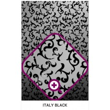 ITALY  Black   Черные цветы